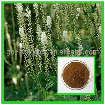 Health Supplements Natural Black Cohosh Extract 2.5% Triterpenoides Saponis HPLC