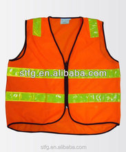 running riding simple warning reflective safety vest
