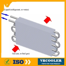 popular type condensor copper condenser for ice maker