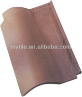 MY8801 long-lasting Spanish style terracotta roof tiles for sale