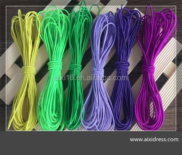 High quality polyester elastic rope elastic cord