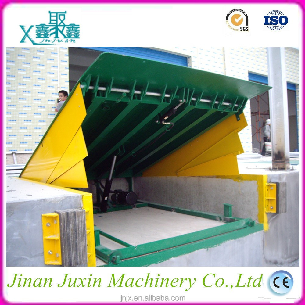 CE ISO hydraulic dock ramp Adjustable loading dock ramp/leveler for sale