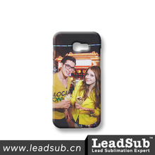 China Wholesale 3D Sublimation Blank plastic Mobile Phone Case For Samsung A5-2017, Custom Printing
