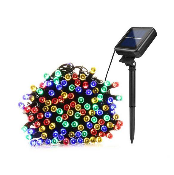 Solar Lamps LED String Lights 22M 200 LEDS Outdoor Fairy Holiday Christmas Party Garlands Solar Lawn Garden Lights Waterproof