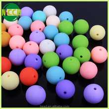 TOP China bead manufacturer plastic soft silicone bead