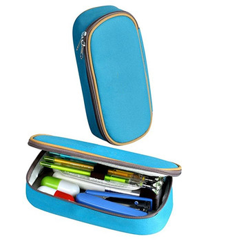 Big Capacity Pencil Case Pen Bag Makeup Pouch Durable Students Stationery Zipper for Girls and Boys