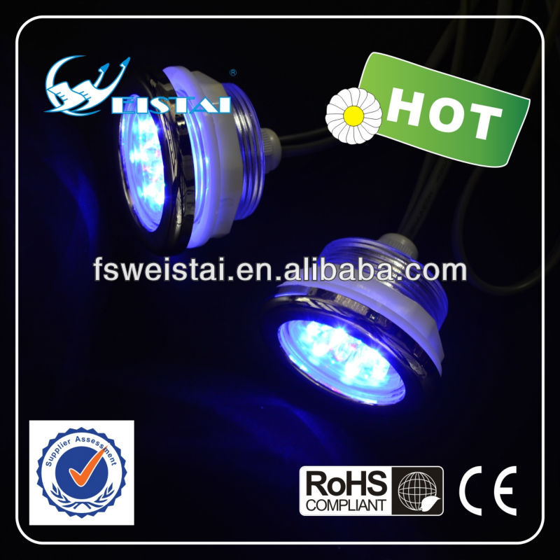 Factory direct supply IP68 color changing led swimming pool lighting with CE/RoHS