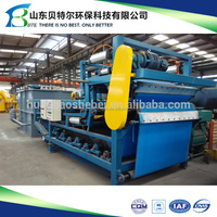 RBYL type belt press filter for solid liquid separation