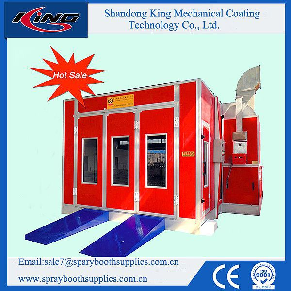 CE Approved KX-3200A Spray Booth for Car Painting and Baking