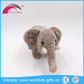 Wholesale children toy kids gift plush soft brown plush toy Elephant