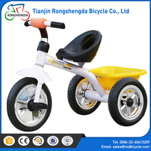 OEM color toys cycle for kids 1 2 years/ ride on children tricycle two seat / two seat pedal car kids tricycle with trailer