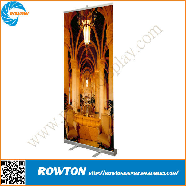 Outdoor Portable roll up standees roll up banner display