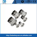 "1 1/4"" DN32 Sanitary Male Threaded Ferrule Pipe Fitting Tri Clamp Type Stainless Steel SS316"