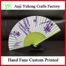 Promotional custom fancy hand fan