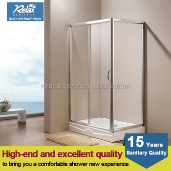 hot sale simple glass shower enclosure