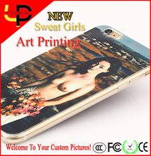 Wholesale oil printing sexy girl phone case for sony xperia z2 for ipad air