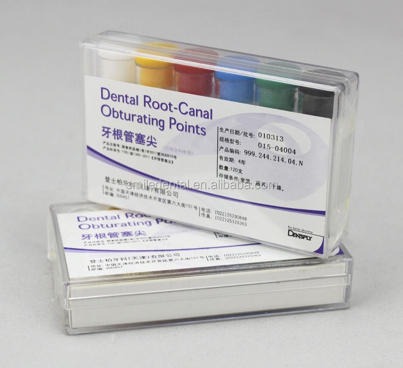 DENTSPLY colorful Root-Canal Dental Gutta Percha Points For Sale