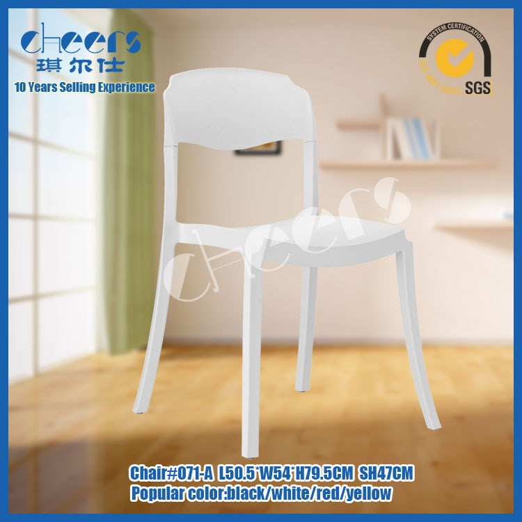 white plastic outdoor chair pool terrace recycle white plastic chairs