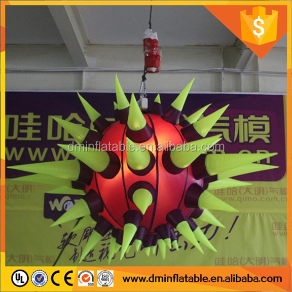 Brand new advertising hanging stars decoration inflatable with great price