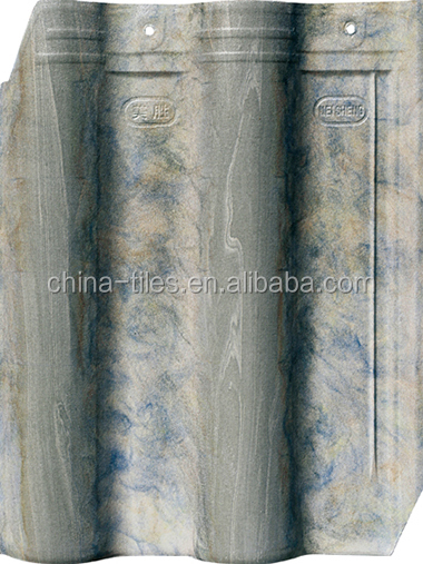 Buildings materials,clay roofing sheet/heating insulation inkjet roof tile