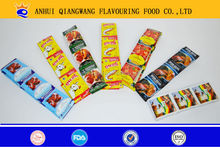 HALAL QWO FLAVOUR CHICKEN BEEF FISHE SHRIMP TOMATO MUSHROOM COOKING CUBE/POWDER WENDY