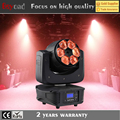 6x4in1 15w led beam rgbw dmx led zoom wash effect moving head stage lighting