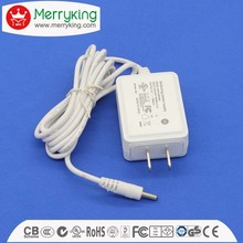 Efficiency VI US white ac adapters 12v 0.5ma 1a 2a 3a switching power supply for cctv system