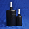 Glue bottle with ISO9001 250ml UV black plastic glue bottle