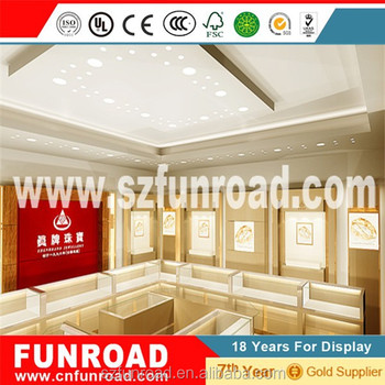 China factory jewelry display furnitures for brand jewelry showroom display