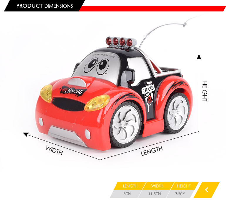 27mhz 4ch steering wheel control racing car toys for kids 2018