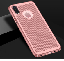 PC Luxury Thin Hybrid Shockproof Breath Net Case Cover for Apple iPhone X 10