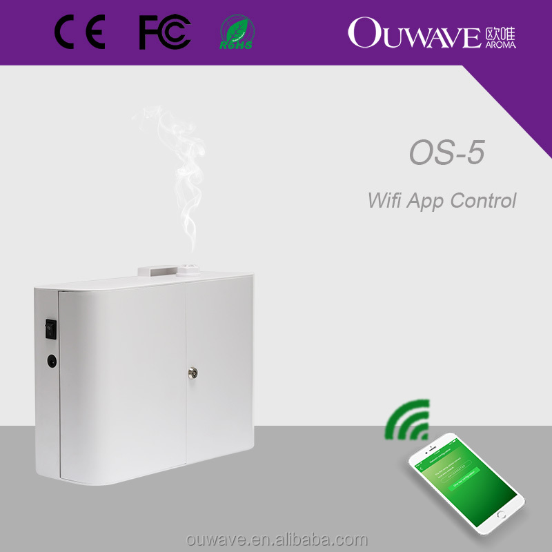 2017 WIFI Hvac scent diffuser system with mobile app control