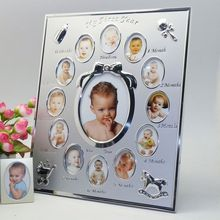 New Born Baby Clothing Small Picture 2X2 Photo Frame