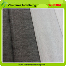 nonwoven fusing interlining fabric for garments accessories fusible paper from the factory 100% polyester non woven fabric