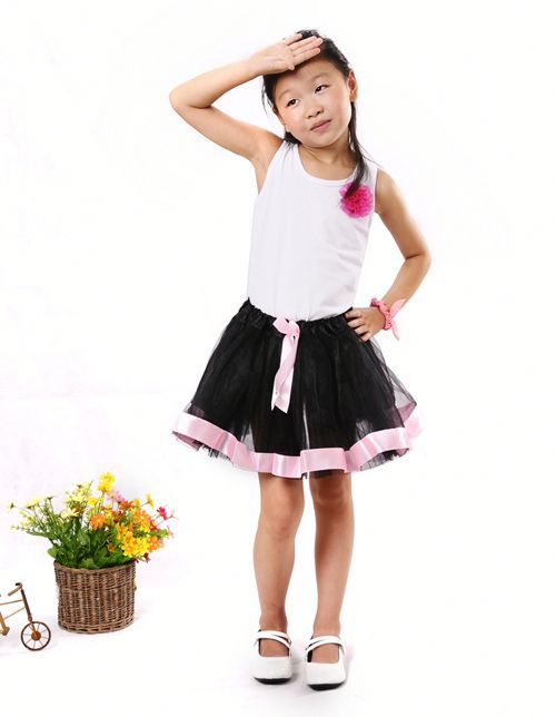 New Arrival Sweet Short Puffy Skirts