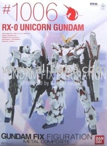 Gundam Fix Figuration Metal Composite #1006 Unicorn Gundam