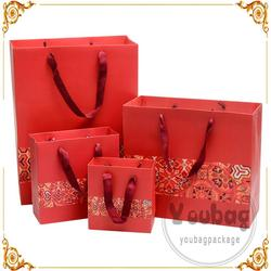 factory custom printing shopping paper bags for jewelry