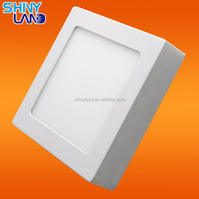 2016 Christmas Promotion Hot Sell SMD2835 surface mounted square office led panel light with CE RoHS