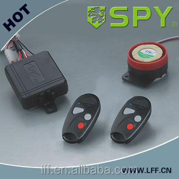 SPY brand waterproof motorcycle alarm system with compeittive price