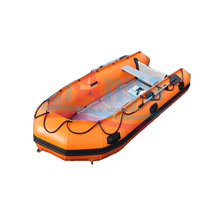 China Liya 2-6.5m PVC boat inflatable rescue boat rubber boat
