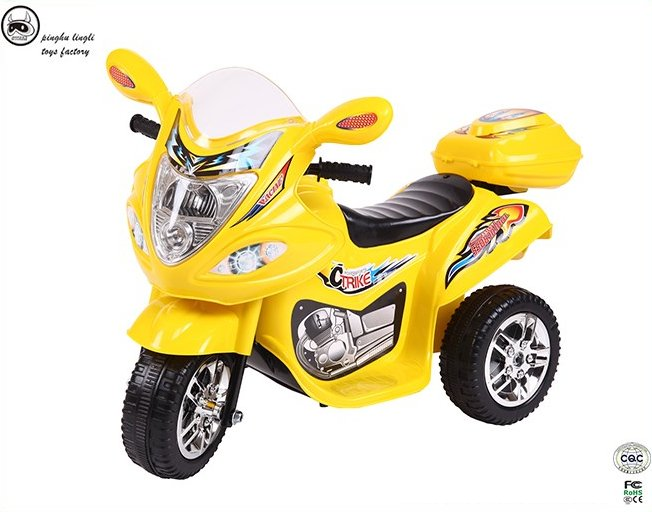 Pinghu toy city Lingli plastic Kids electric colorful tricycle,baby motorcycle