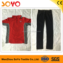 wholesale cheap quality grade used clothing second hand men clothing in china