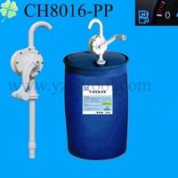 55 gallon drum adblue filling pump/rotary hand adblue pump CH8016(PP/PVC/PPS)