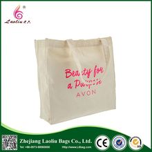 Fashion Eco-Friendly Handbag Recyclable Cotton Bag Tote Canvas Bag