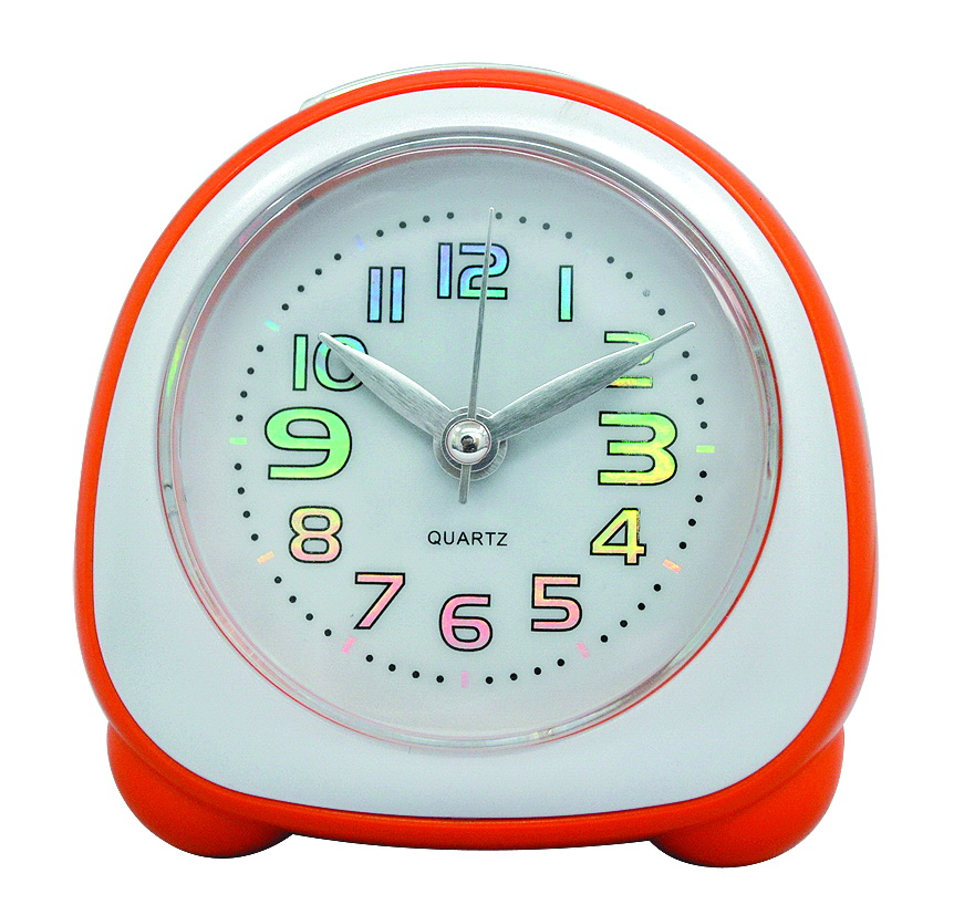 plastic travelling clock