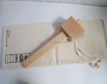 Super Quality Beech Wood Mallet with Cloth Bag