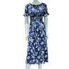 Wholesale cheap price long beach dress women floral beach dress