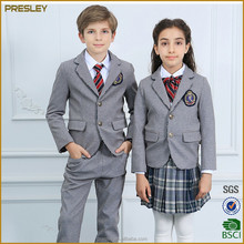Presley OEM new arrival custom suit cheap 12 years clothes cotton blazers