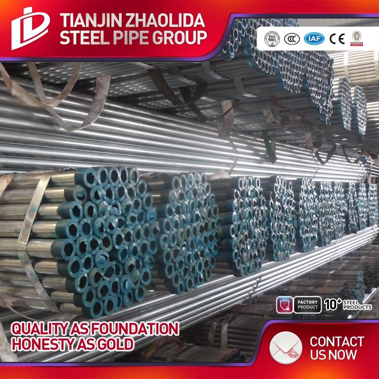 welded gi pipe ss 400 steel hollow section