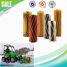 factory custom extendable rotary road nylon bristle clean snow sweeper brushes